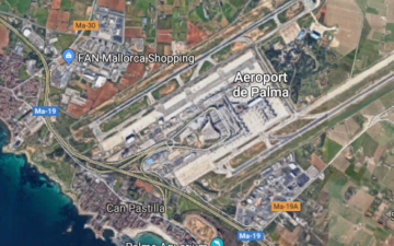 Flughafen Palma VIP Parkplatz