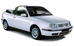 VW Golf Cabrio (Model 3 o. 4) (via Easycabrio.com)
